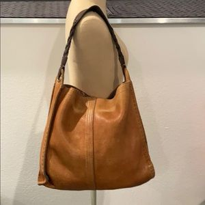 Authentic Lucky Brand distressed leather purse